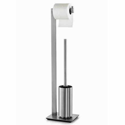 Zack Linea Polished Stainless Steel Toilet Butler - 40027